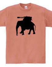 Armed elephant