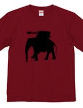 武装した象