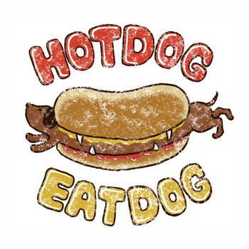 HOTDOG EAT DOG