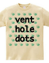 vent hole dots #HOT MINT