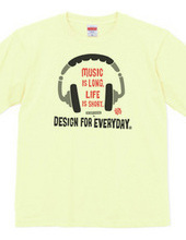 ヘッドホン〜Music is long,Life is short.〜