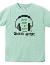 ヘッドホン~Music is long,Life is short.~