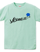 Let s beat it!-blue ball ver.-