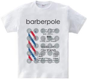 Signboard of barbershop