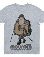Trekking Man in Mounten