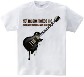 melty guitar -hottest black-