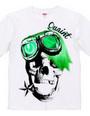 Goggle skull grn