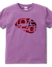 """Love&Peace"" T-shirts"