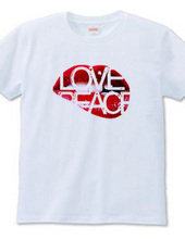 """Love&Peace"" T-shirts"