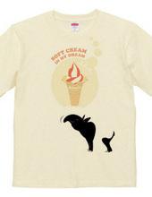 バクと夢ソフトクリーム