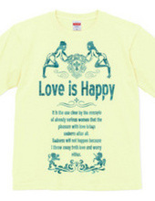Love is happiness