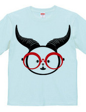 Wimpy Devil and glasses