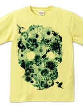 flower skull_2C