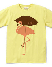 Flamingo Umbrella 02
