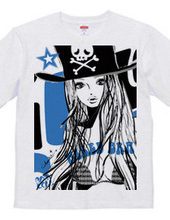 PIRATE BABY GIRL BLUE BUST