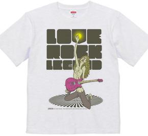 伝説のロックスターTシャツ
