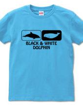 black & white dolphin