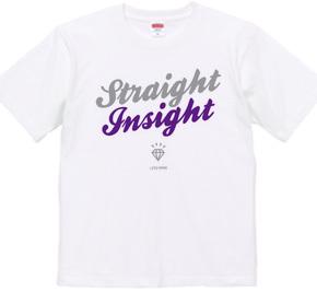 """Straight Insight"" Tシャツ"