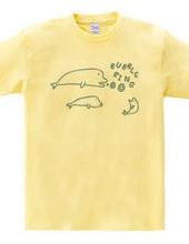 バブルリング-白イルカ-