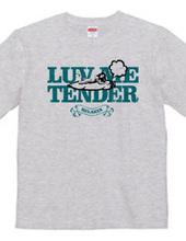 """luv me tender/green"" T-shirts"