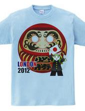 2012年ロンドンオリンピック応援必勝だるま