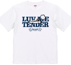 """luv me tender/navy"" T-shirts"