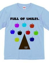 FULL OF SMILES.