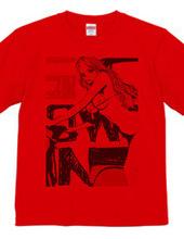 赤いベスパの女2