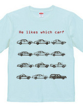 he likes which car?