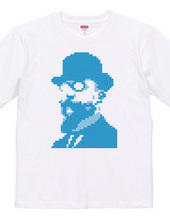 Erik Satie in 8-Bit t-shirt