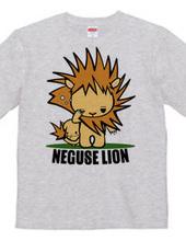 Kinky hair lion