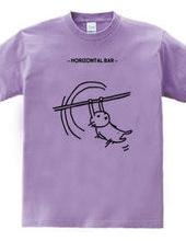 ウサギ鉄棒
