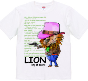 LION the King of beasts