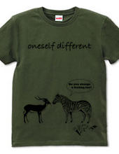 oneself different