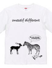 oneself different