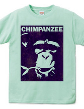 Chimpanzee face 02