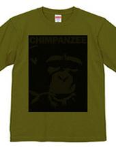 Chimpanzee face 03
