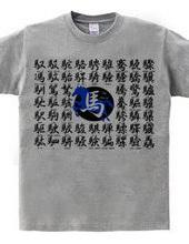 馬へんの漢字