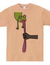 カエルの舌握り