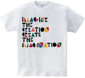 IMAGINE THE CREATION CREATE THE IMAGINAT