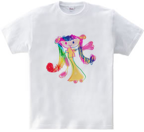 幼稚園児が描いた女の子 01
