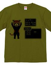 ドット絵レッサーパンダ
