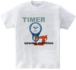 TIMER and sewing machine