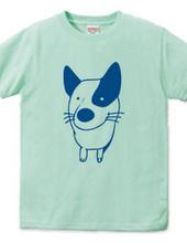 dog イラスト(背面:dog lover)