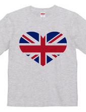 ハート型イギリス国旗,ユニオンジャック,Union Jack