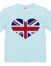 England heart(Union Jack,Union Flag)