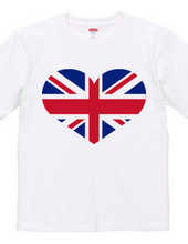 England heart(Union Jack,Union Flag)