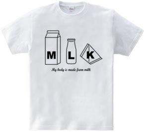 牛乳大好き