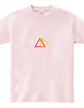 triangle pink×yellow