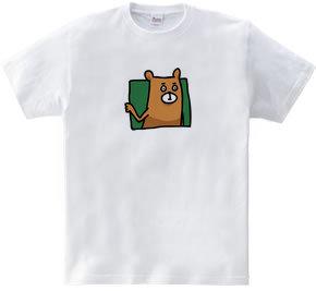 だまし絵クマ